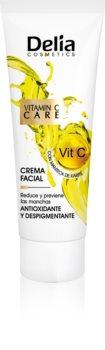 Delia Cosmetics Vitamine C + odżywczy krem antyoksydacyjny