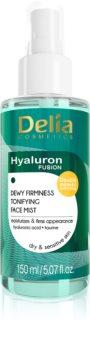 Delia Cosmetics Hyaluron Fusion Tonisierendes Gesichtsnebel-Spray mit festigender Wirkung