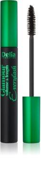 Delia Cosmetics Glamour Volumenmascara mit Verlängerungseffekt und Wimperntrennung