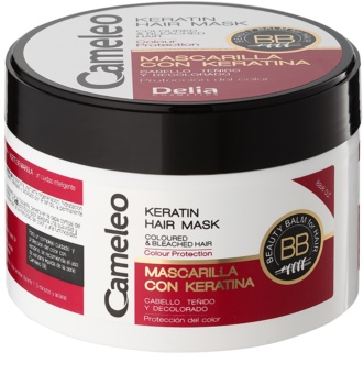 Delia Cosmetics Cameleo BB keratin maska za barvane lase in lase s prameni