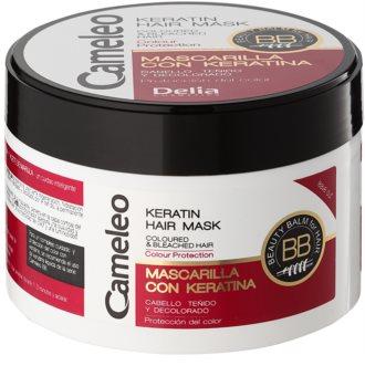 Delia Cosmetics Cameleo BB Keratinmaske für gefärbtes Haar oder Strähnen