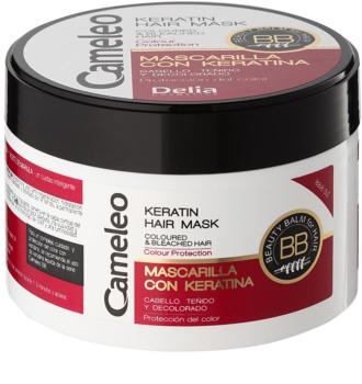 Delia Cosmetics Cameleo BB maschera alla keratina per capelli tinti e con mèches
