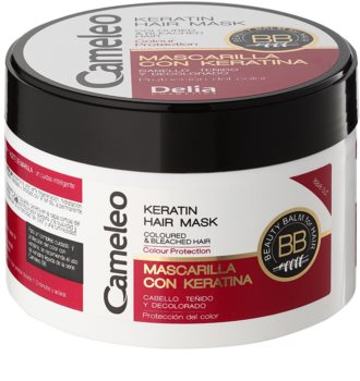 Delia Cosmetics Cameleo BB кератинова маска за боядисана коса и коса с кичури
