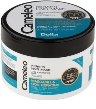 Delia Cosmetics Cameleo BB masque à la kératine pour cheveux fins et sans volume