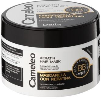 Delia Cosmetics Cameleo BB keratin maska za oštećenu kosu