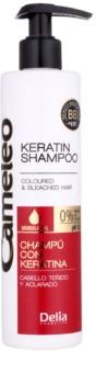 Delia Cosmetics Cameleo BB shampoing à la kératine pour cheveux colorés et méchés