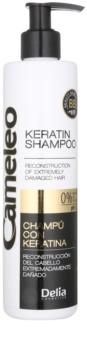 Delia Cosmetics Cameleo BB shampoing à la kératine pour cheveux abîmés