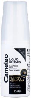 Delia Cosmetics Cameleo BB tekoči keratin v pršilu za poškodovane lase