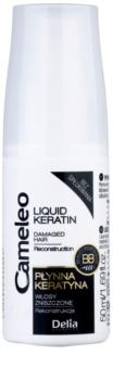 Delia Cosmetics Cameleo BB tekući keratin u spreju za oštećenu kosu