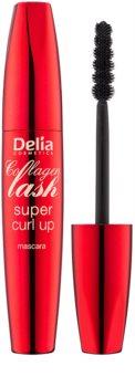 Delia Cosmetics Collagen Lash máscara de pestañas para dar longitud y curvatura