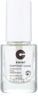 Delia Cosmetics Coral esmalte endurecedor para uñas