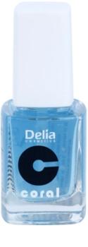Delia Cosmetics Coral acondicionador para uñas  con queratina