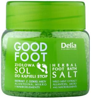 Delia Cosmetics Good Foot sal de banho herbal para os pés