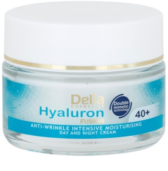 Delia Cosmetics Hyaluron Fusion 40+ intenzívny hydratačný krém proti vráskam