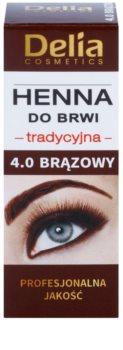 Delia Cosmetics Henna barva na obočí