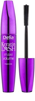 Delia Cosmetics Keratin Lash riasenka pre maximálny objem