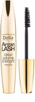Delia Cosmetics Argan Lash máscara para dar volume, comprimento e separação de pestanas