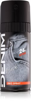 Denim Black Deodorant Spray für Herren