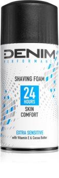 Denim Performance Extra Sensitive pěna na holení pro muže