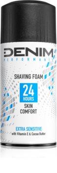 Denim Performance Extra Sensitive spumă pentru bărbierit pentru bărbați