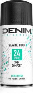 Denim Performance Extra Fresh Shaving Foam for Men