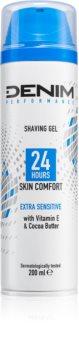 Denim Performance Extra Sensitive Shaving Gel for Men