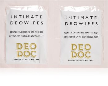 DeoDoc DeoWipes Fresh Coconut maramice za intimnu higijenu
