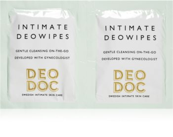 DeoDoc DeoWipes Jasmine Pear maramice za intimnu higijenu
