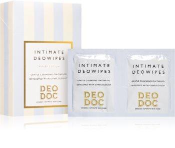 DeoDoc DeoWipes Violet Cotton салфетки для интимной гигиены