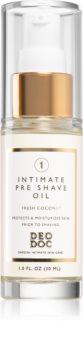 DeoDoc Intimate Pre-shave Oil масло гель для бритья