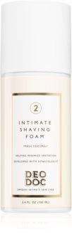 DeoDoc Intimate Shaving Foam Rasierschaum für die Intimpartien