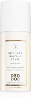 DeoDoc Intimate Shaving Foam пена для бритья для интимных частей тела