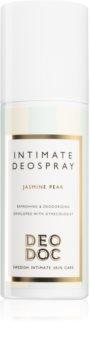DeoDoc Intimate DeoSpray Jasmine Pear spray rafraîchissant pour les parties intimes