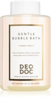 DeoDoc Gentle Bubble Bath espuma de banho para higiene íntima