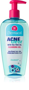 Dermacol Acneclear gel de limpeza e desmaquilhante para pele problemática