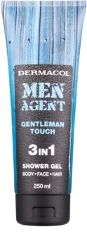 Dermacol Men Agent Gentleman Touch gel doccia 3 in 1