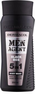Dermacol Men Agent Black Box Duschgel 5 in 1