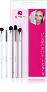Dermacol Master Brush by PetraLovelyHair комплект четки  за сенки за очи