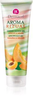 Dermacol Aroma Ritual Apricot & Melon gel de duș