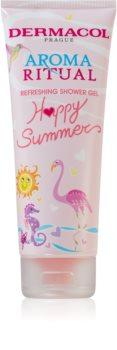 Dermacol Aroma Ritual Happy Summer felfrissítő tusfürdő gél