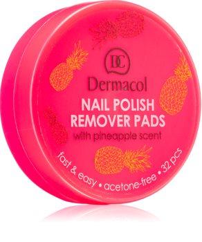 Dermacol Nail Polish Remover Pads odlakovač na nehty bez zápachu