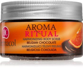 Dermacol Aroma Ritual Belgian Chocolate telový peeling