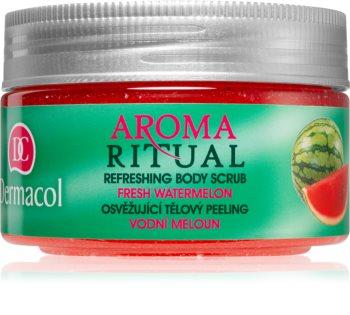 Dermacol Aroma Ritual osvěžující tělový peeling