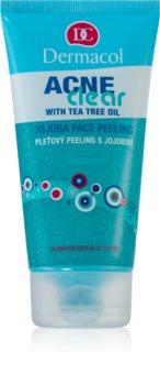 Dermacol Acneclear oczyszczający peeling do twarzy do skóry problemowej