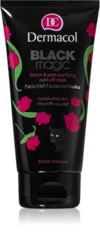 Dermacol Black Magic mască exfoliată detoxifiantă