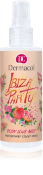 Dermacol Body Love Mist Ibiza Party parfümiertes Bodyspray
