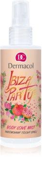 Dermacol Body Love Mist Ibiza Party Scented Body Spray