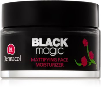 Dermacol Black Magic mattierendes und Feuchtigkeit spendendes Gel