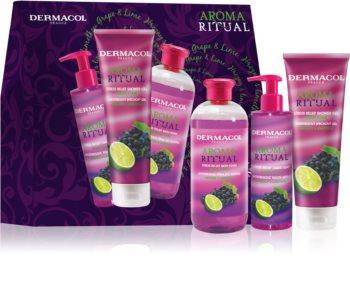Dermacol Aroma Ritual Grape & Lime σετ δώρου (για γυναίκες)