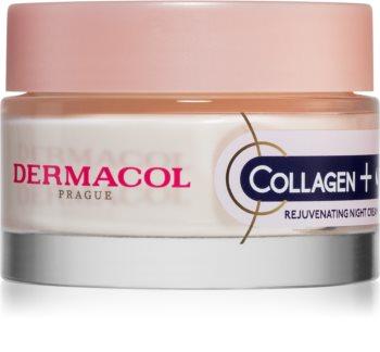 Dermacol Collagen+ crema intensa de noapte pentru reintinerire